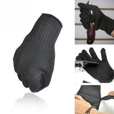 Personal Protection Cut-resistant Gloves Safe Security Self Defense 1 Pair Black