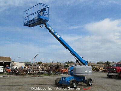 2005 Genie S40 40' D/F Telescopic Boom Man Lift Aerial Work Platform Refurb 2012