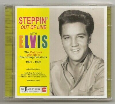 """Elvis Presley 2 Cd """"Steppin' Out Of Line - The Pot Luck Recording Sessions"""" 2015"""