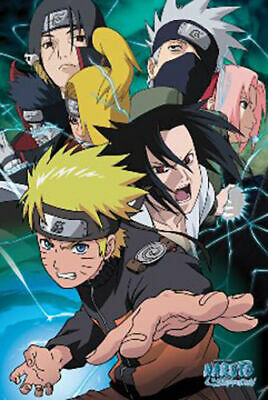 "Poster - Studio B - Naruto - Team 7 36x24"" Wall Art p6220"