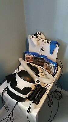 Sony PlayStation VR Headset V2 with all the  accessories