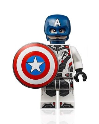 LEGO Marvel Avengers Endgame MiniFigure - Captain America (w Shield) 76123