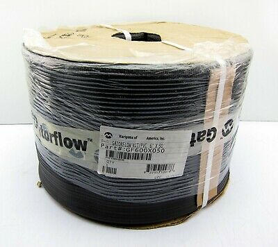 "Gatorflow GF600X050 Nitrile PVC Oil & Weather Resistant Discharge Hose 6"" x 50'"