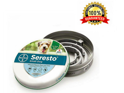 Bayer Seresto² Flea and Tick Collar for Small Dogs 50% OFF 4Packs