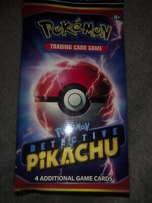 DETECTIVE PIKACHU Movie Booster Pack Mint Pokemon Cards
