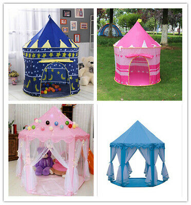 Large Kids Teepee Tent Children Wigwam Play House Fairy House Indoor Outdoor