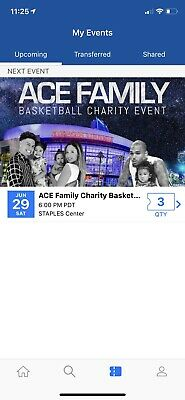 Ace Family Basketball Charity Event