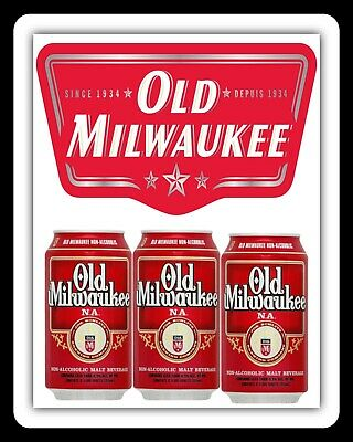 Old Milwaukee Beer Man Cave Pub Bar Metal Plaque Tin Sign Others Are Listed 1528