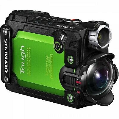 Olympus Stylus Tough! TG Tracker Green Sub Action Cam