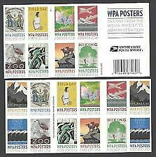 WPA Poster Forever Stamps