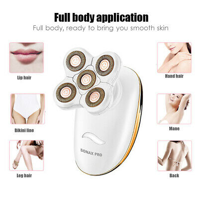 3 In 1 SONAX PRO Ladies Electric Shaver Private Parts Kneeling Five Head Shaving