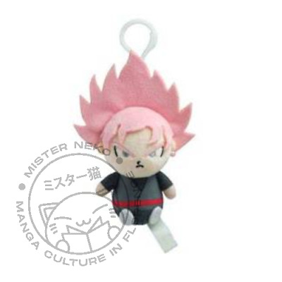 Mini Peluche Plush Doll - Dragonball Super - Son Goku Super Sayan Rose 8cm