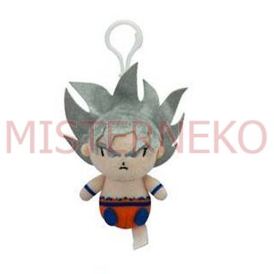 Mini Peluche Plush Doll - Dragonball Super - Son Goku Ultra Istinto 8cm