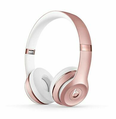 Beats by Dr. Dre Solo3 wireless Headband Headphones- Rose Gold-Brand New& Sealed