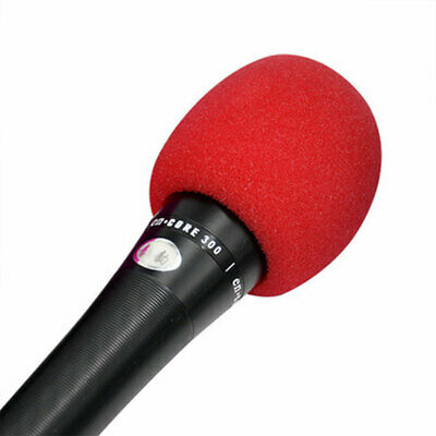 Microphone Cover Foam Windscreen  Universal Handheld Assorted Color Mic Cover