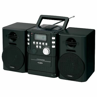 Jensen Cd-725 Micro Hi-fi System - 4 W Rms - Ipod Supported - Cd Player - Fm - 2