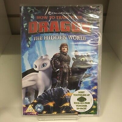 How To Train Your Dragon The Hidden World DVD - New and Sealed