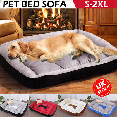 Pet Dog Cat Bed House Soft Washable Kennel Puppy Cushion Mat Warm Large Blanket