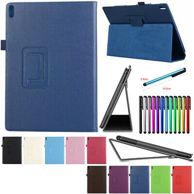 """Leather Case Magnetic Flip Cover Stand 10.1"""" For Lenovo Tab E10 TB-X104F Tablet"""