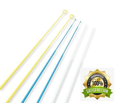 Sterile Disposable Inoculating Loops and Needles Individually Wrapped Pack of 10