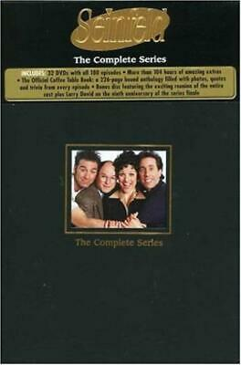 Seinfeld: The Complete Series 33-Disc Set w/ Coffee Table Book DVD VIDEO MOVIE