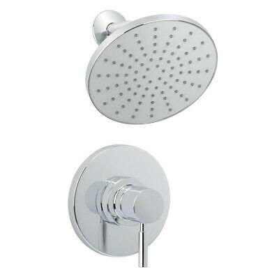 Miseno MS-550425E-S Chrome Mia Shower Trim Package with Single Function Rain