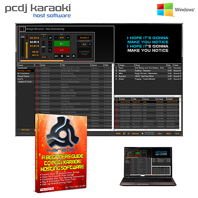 Pcdj Karaoki Hosting Software (Mp3+G) Windows Pc - Music Deals Available