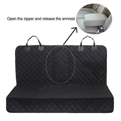 Non-slip Pet Dog Seat Hammock Cover Car Suv Van Back Rear Protector Mat Black