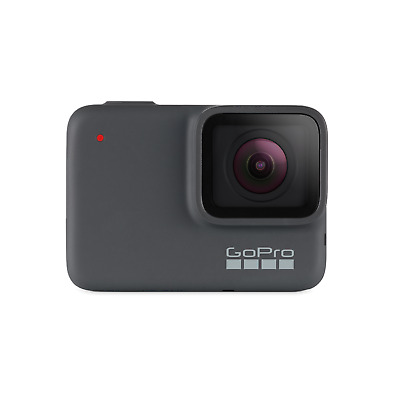 GoPro Hero 7 Silver 4K-Action Cam wasserdicht Sprachsteuerung Touchscreen