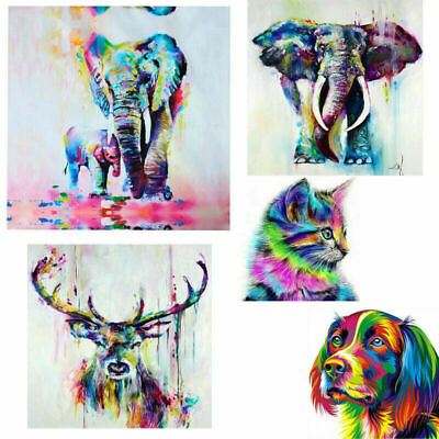 Animal Paintings Canvas Prints Picture Home Office Wall Art Decor Ornament Gift