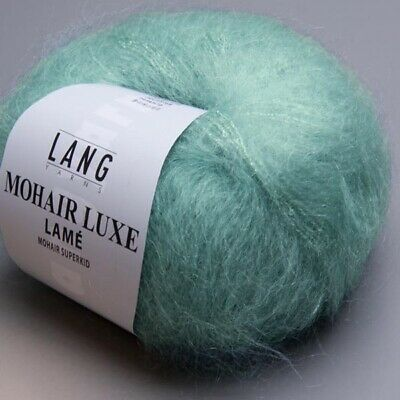 PETROL MOHAIR LUXE von LANG YARNS - 25 g // ca 0288 175 m Wolle