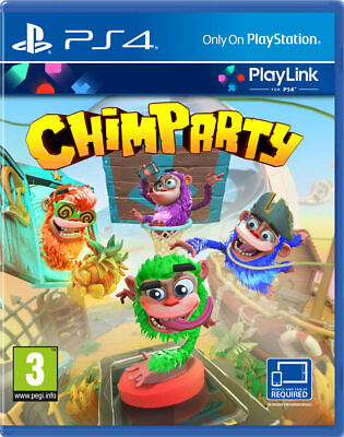 Chimparty (PS4) BRAND NEW AND SEALED - IN STOCK - QUICK DISPATCH