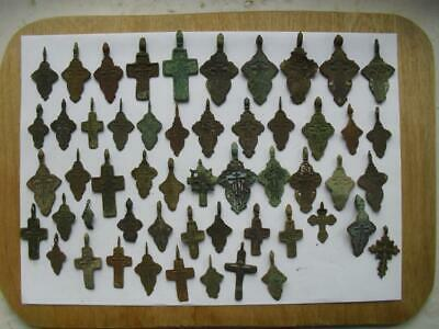 53 ancient cross 17-18 century lot №2