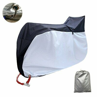 52aba80d7198 WATERPROOF NYLON BICYCLE Cycle Bike Cover Outdoor Rain Protector for ...