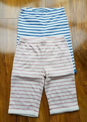 Mini Boden Girls stripe soft cotton Pyjama pack of 2 shorties 6 years Brand new
