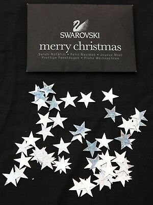 Swarovski Silver Stars in a 11.5 x 7.75cm envelope each star is 2cm pnt to pnt