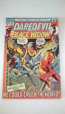 Daredevil 94 - Daredevil & Black Widow (Gerry Conway/Gene Colan. 1972🔥!)