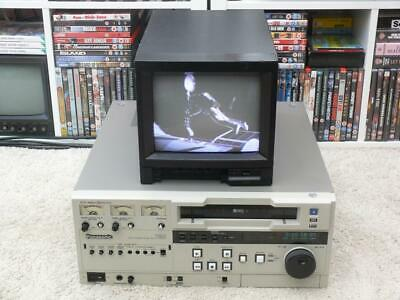 Panasonic Video Cassette Player ~ AG-7650HB ~ S/VHS & VHS ~ Tested / Working