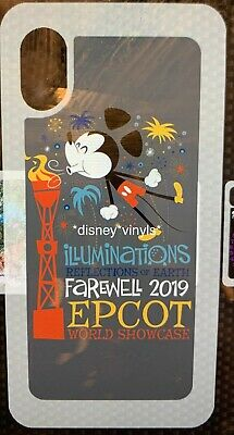 Disney Parks DTech iPhone Case Farewell Illuminations Mickey NEW You Choose Size
