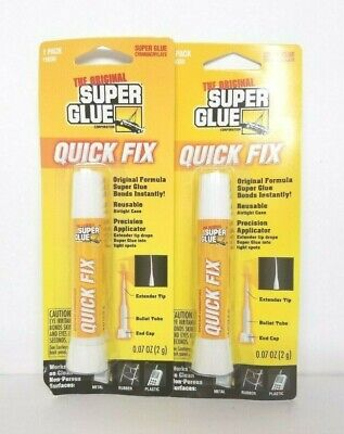Super Glue Super Glue 15030-12 Quick Fix,(Pack of 2)