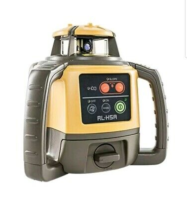Topcon Rl-H5A Long Range Rotating Laser Level Calibrated