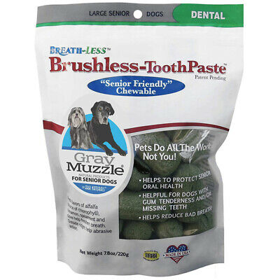 ARK NATURALS - Gray Muzzle Brushless Toothpaste Large for Dogs - 7.8 oz. (220 g)