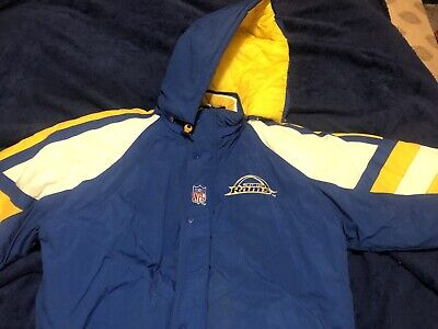 new product 1396b 73268 RAMS NFL STARTER Hooded Half Zip Pullover Jacket SPRING ...