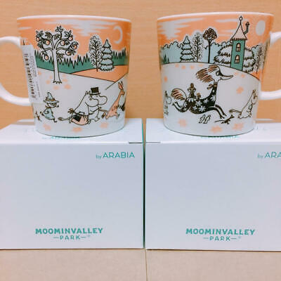 Moomin mag cup Arabia Moomin Valley Park Limited mugcup Japan 2019