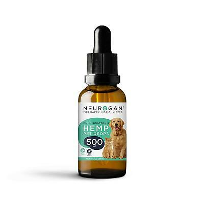 Hemp Oil Dogs 500 Mg Joint Relief Separation Calming Cats Anxiety Skin Coat