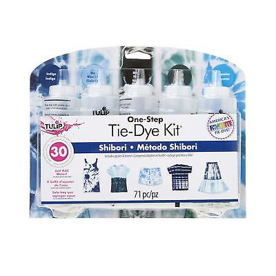Tulip Tie Dye 5 Colour Kit + FREE Tracking POST - Shibori Blue Dark