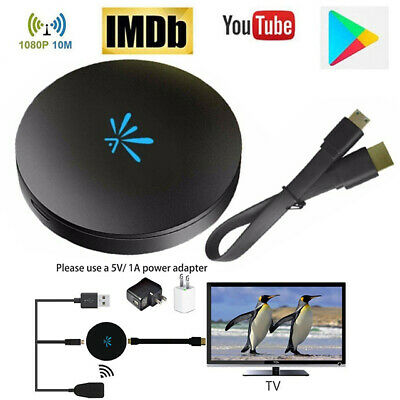 For Google Chrome cast 4rd Generation 1080P HD HDMI Media Video Digital Streamer