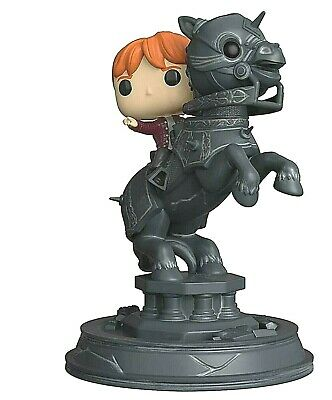 Funko 35518 POP! Movie Moments: Harry Potter S5: Ron Riding Chess Piece 82