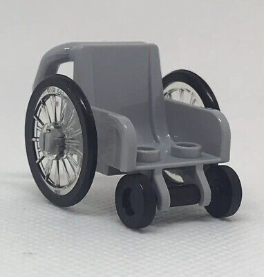 LEGO Minifigure Wheelchair NEW 60134 60154 60204 Mini Fig