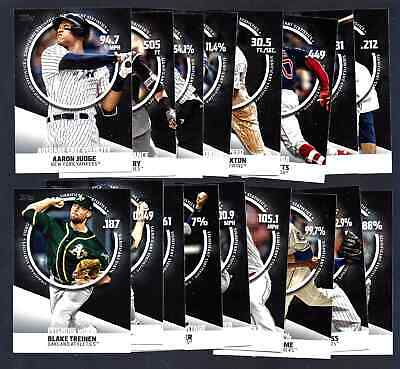 2019 Topps Series 2 Significant Statistics Insert: Complete Your Set You Pick